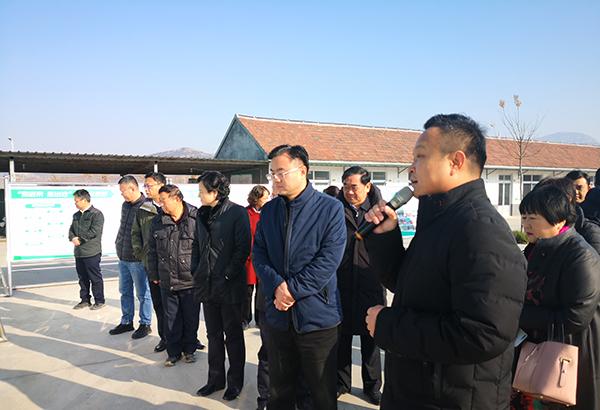 【热烈欢迎】章丘区区委孟学峰副书记一行领导莅临薯鑫农业参观指导